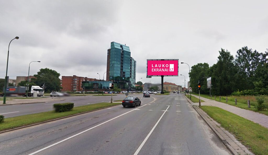 "NEW Outdoor LED screen ""Baltijos prospect"" in Klaipeda"